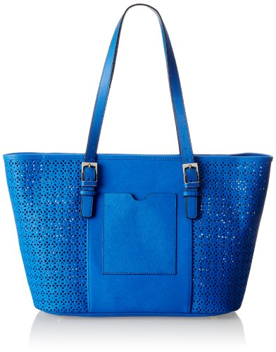 Tignanello Summer Lovin Perf Large Shoulder Bag,Royal,One Size by Tignanello