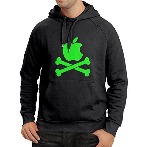 Price comparison product image N4269H Hoodie Skull and Bones (X-Large Black Green)