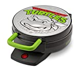 Nickelodeon NTWM-43 Teenage Mutant Ninja Turtles Round Waffle Maker