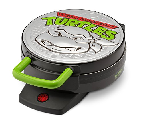 Ninja Turtles Pizza (Nickelodeon NTWM-43 Teenage Mutant Ninja Turtles Round Waffle Maker)