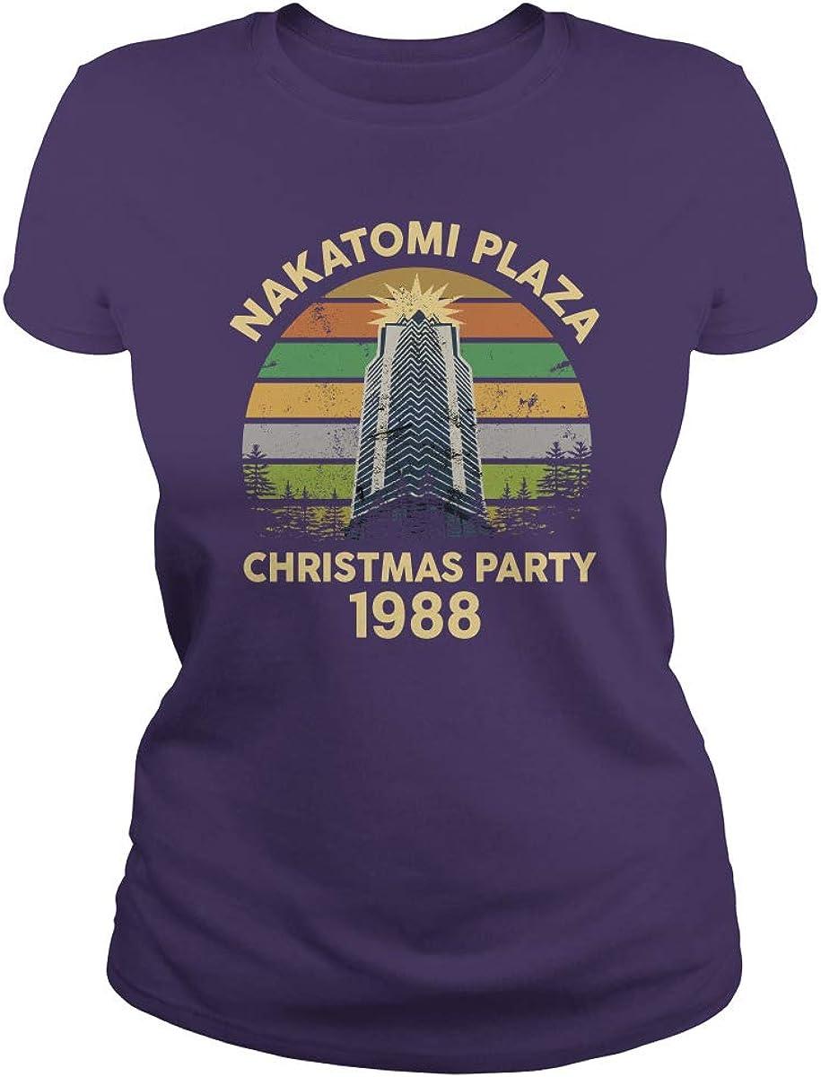 NUCOVASUTEE Nakatomi Plaza Christmas Party 1988 T-Shirt