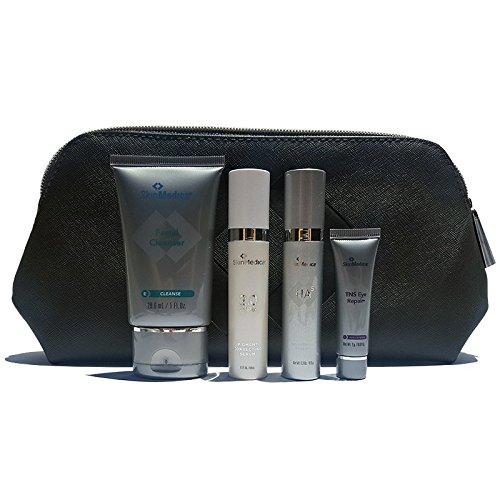 SkinMedica 4-Piece Travel Kit- HA5, Lytera 2.0, TNS Eye Repair, Facial Cleanser