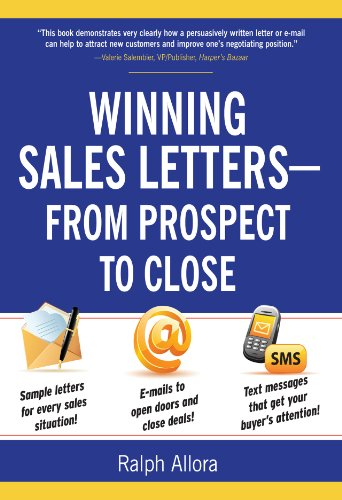 Amazon Com Winning Sales Letters From Prospect To Close Ebook