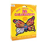 Ooly 3D Colorables Coloring Toys - Dress Up Butterfly Wings