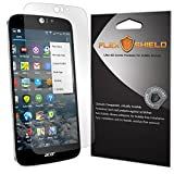 Acer Liquid Jade Z Screen Protector (5-Pack), Flex Shield Clear Screen Protector for Acer Liquid Jade Z Bubble-Free and Scratch Resistant Film