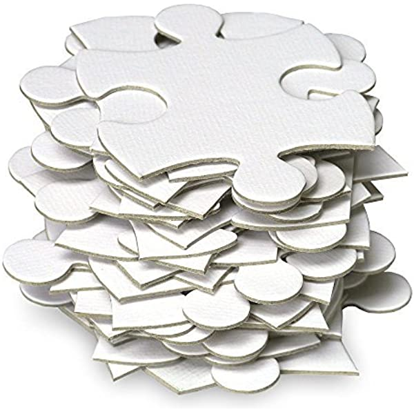 with photo or white  Unique Guest Book  White Blank Puzzle Pieces  Alternative Guestbook  Sign In Book Guest Book Puzzle 200 large pieces