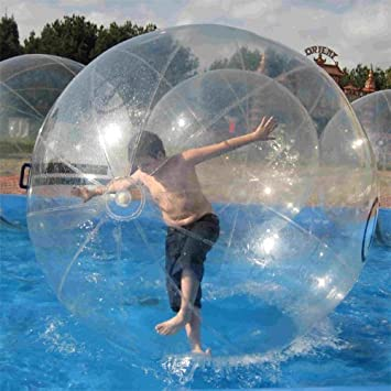 Toys & Hobbies Learned Free Shipping German Zipper 2m Inflatable Water Walking Ball Water Rolling Ball Water Balloon Zorb Ball Inflatable Human Hamster Toy Balls