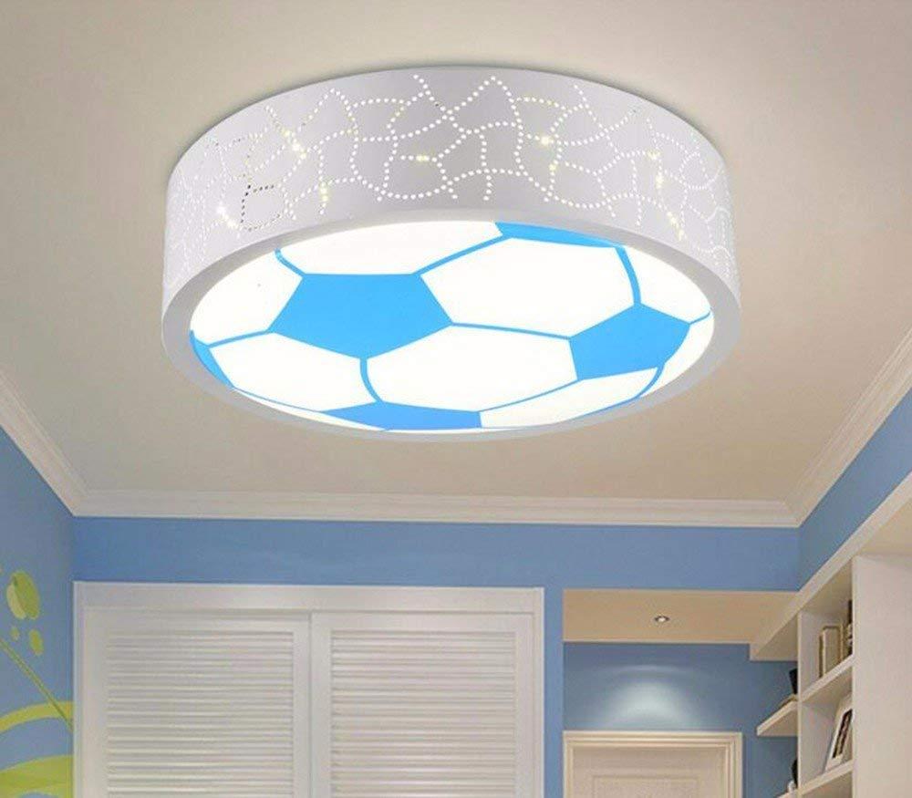 FuweiEncore Deckenleuchte Modern Home Lampe für Kinder LED-Schlafzimmer Rundleuchte aus Eisen 24W Dreifarbdimmer 40  40Cm