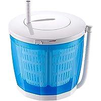 Mini Machine à Laver DéShydrateur Manuel Campant De Machine à Laver en Plastique De Petite Machine à Laver Simple dans Le Dortoir Laveur Simple De Lavage Contre La Laveuse Portative 3KG / 6.6Lbs