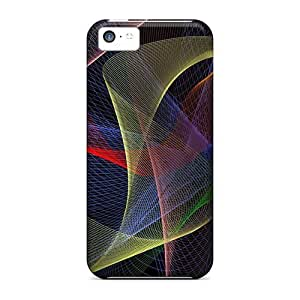Dana Lindsey Mendez Case Cover Protector Specially Made For Iphone 5c Waves Abstract