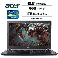 2018 Acer Flagship High Performance Aspire 3 Laptop 15.6 inch HD Display, Intel Core i5-7200U 2.5 GHz, 6 GB DDR4 SDRAM Memory, 1 TB Hard Disk Drive, Intel HD Graphics 620, Windows 10
