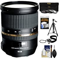 Tamron 24-70mm f/2.8 Di VC USD SP Zoom Lens (BIM) with Tripod + 3 (UV/ND8/CPL) Filters + Accessory Kit for Nikon D3100, D3200, D5100, D7000, D700, D800, D4 Digital SLR Cameras Basic Facts Review Image