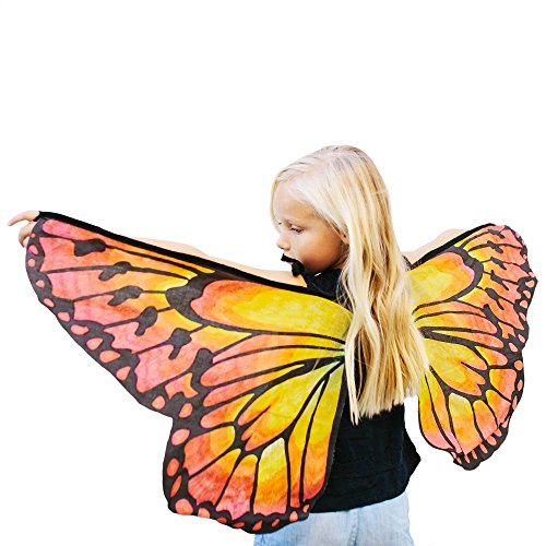 Seedling Design Your Own Butterfly Wings Dress Up Activity Kit (Baby And Kids Butterfly Costume)