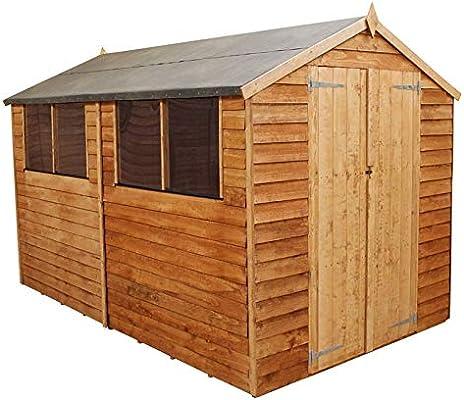 Windermere caseta de cobertizo (Apex al aire libre, 10 x 8