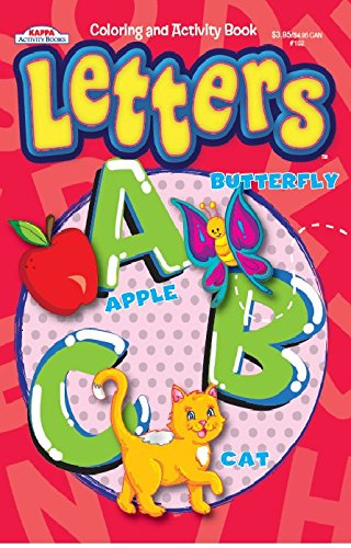 Letters Coloring Activity Book