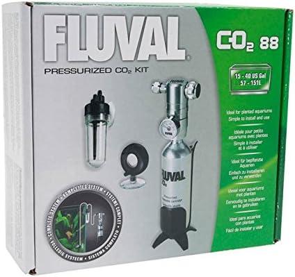 Fluval Kit de CO2 Presurizado Grande 88