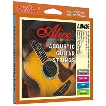 alice acoustic guitar strings aw436sl coated phosphor bronze custom light 11 53. Black Bedroom Furniture Sets. Home Design Ideas