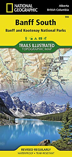 Banff South [Banff and Kootenay National Parks] (National Geographic Trails Illustrated Map)