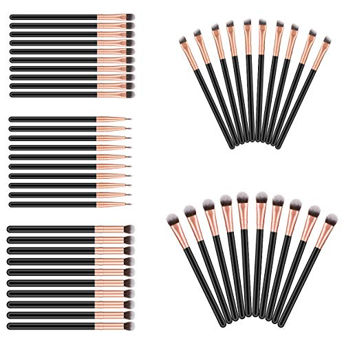 50pcs Eye Makeup Brush - Acevery Eyeshadow Eyeliner Eyebrow...