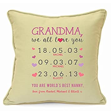 Amazon.com: Personalised Presents Gifts For Grandma Grandmother ...
