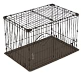 Best Iris Dog Crates - IRIS Medium Wire Deluxe Dog Cage Review