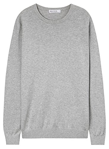 meters-bonwe-mens-basic-round-neck-long-sleeve-solid-pullover-sweater-grey-l