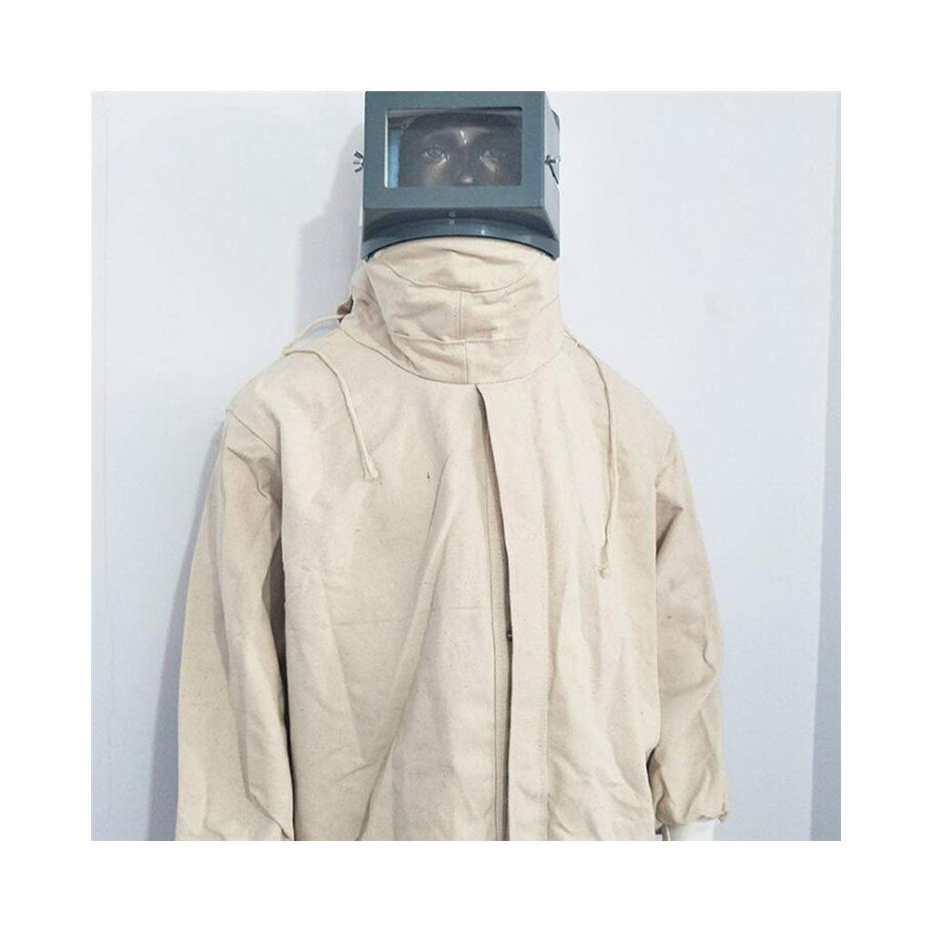Overall Protective Safety Work Blasting Protective Clothing Canvas Hooded Industrial Protective Clothing by HZTWS