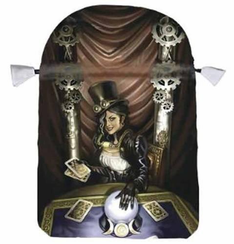 Steampunk High Priestess Satin Tarot ()
