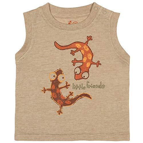 Camiseta Regata Little Friends Areia P