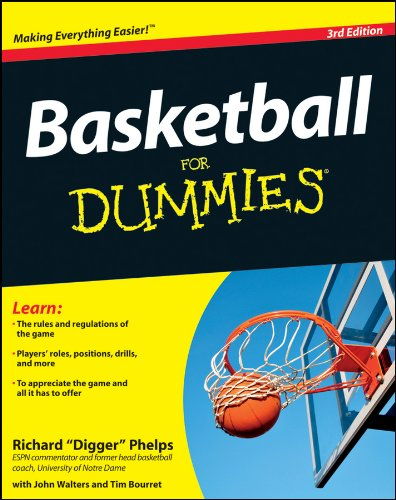 Basketball For Dummies cover