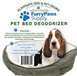 Furry Paws Supply Pet Odor Eliminator - Deodorize Your Pets Bed & Eliminate All Those Smelly Odors - Fits All Pet Beds - No Need for Sprays - 100% Recyclable