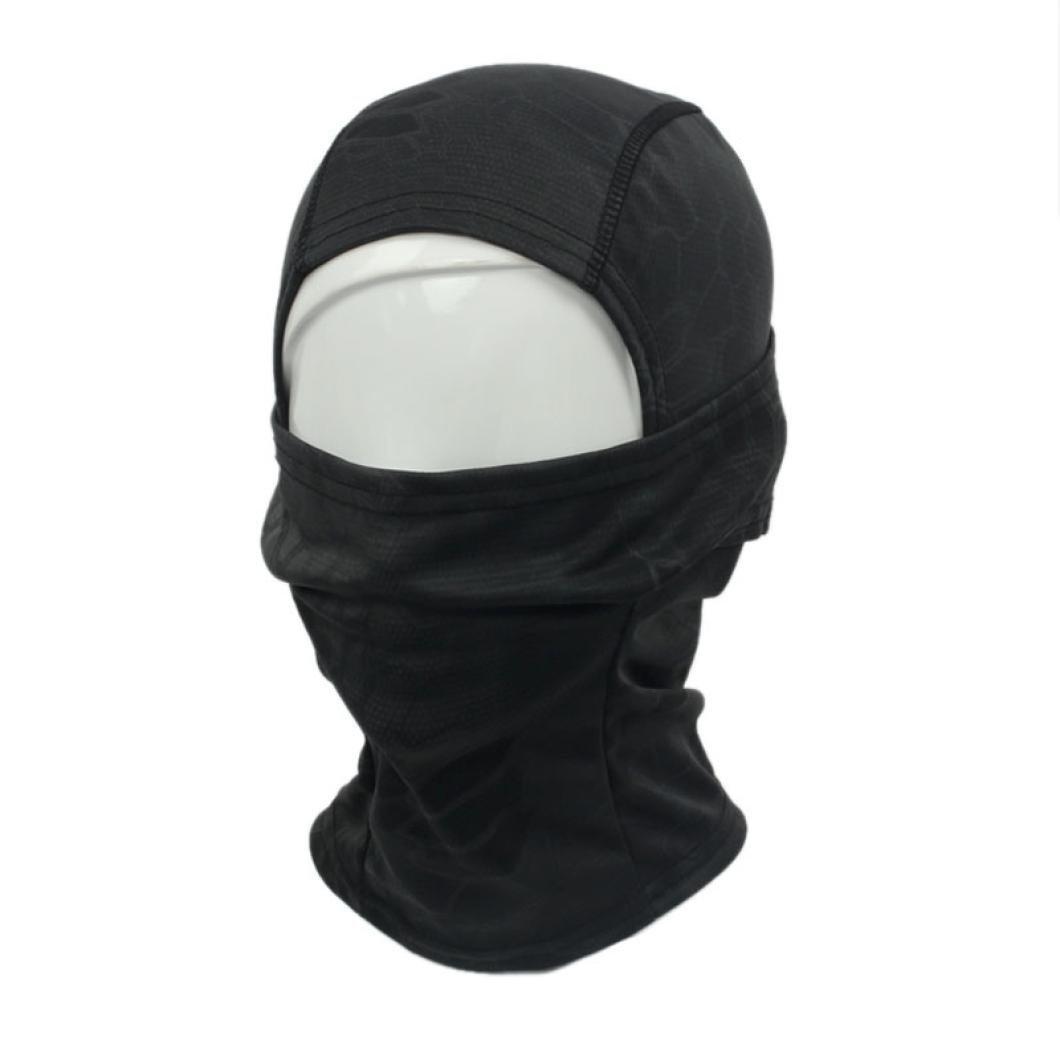 Auxma Máscara blindada de camuflaje Ciclismo Moto Cap Gorras Balaclava Full Face (Montaña): Amazon.es: Deportes y aire libre