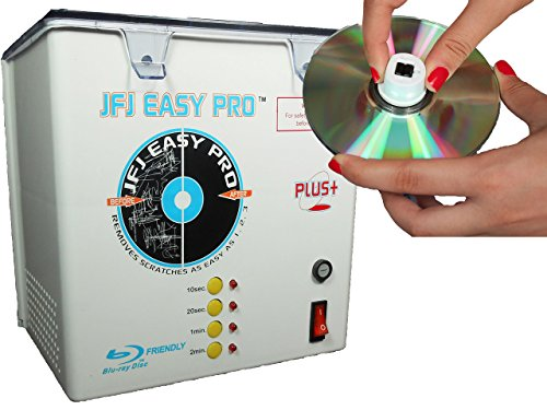 JFJ Easy ProTM CD/DVD Repair Machine with Push Nut Assembly 110 volt