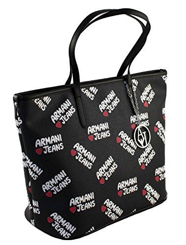 Armani Jeans Tasche Henkeltasche Shopper Bag 9220287 schwarz