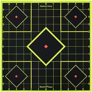 "12"" Birchwood Casey Shoot - N - C Self - Adhesive Sight - In Targets"