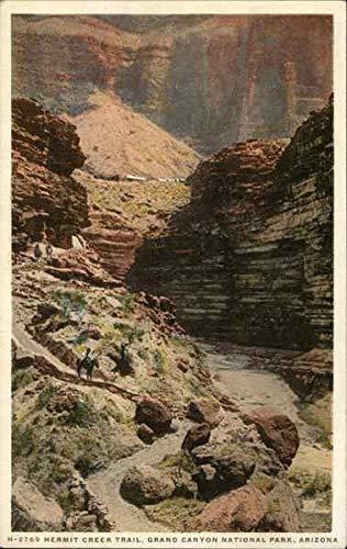 Hermit Creek Trail Grand Canyon National Park, Arizona Original Vintage Postcard from CardCow Vintage Postcards
