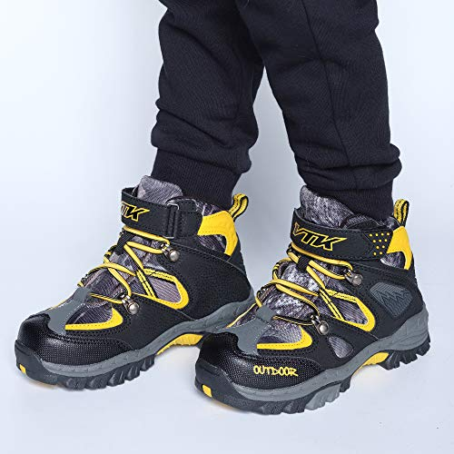Pictures of Kid Hiking Boots Waterproof Thick Warm Snow 5
