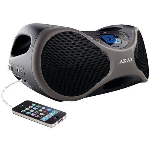 AKAI CE2000 6-Speaker CD Boom Box