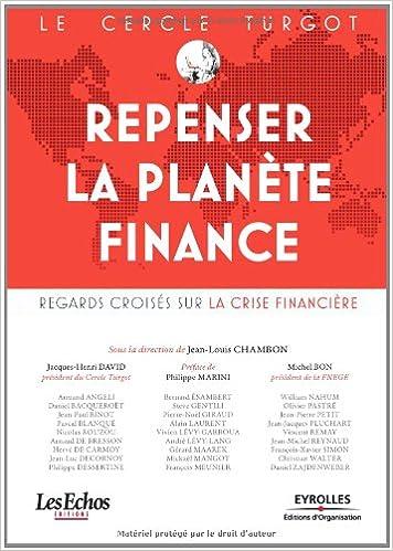 Download Online Le Cercle Turgot : Repenser la planète Finance : Regards croisés sur la crise financière pdf