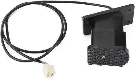 commande de vitesse du papillon p/édale de frein pour karting sur v/élo /électrique acc/él/érateur /électrique P/édale de frein