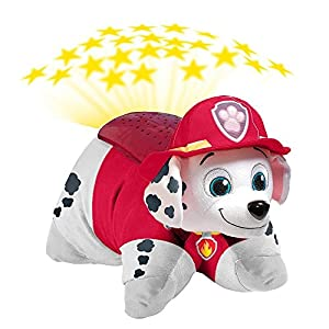 Nickelodeon Paw Patrol Pillow Pets Dream Lites - Marshall Stuffed Animal Plush Toy - 516E 2BQhOo1L - Pillow Pets Nickelodeon Paw Patrol Marshall Dream Lites Stuffed Animal Night Light