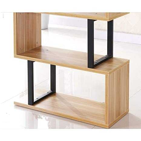 Amazon.com: Estantería de madera maciza ZHslj, estantería de ...
