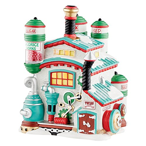 Department 56 4050964 North Pole Series North Pole Licorice Works (Pole 56 Series North)