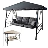 Garden Winds Gazebo 3-Person Swing Replacement Canopy