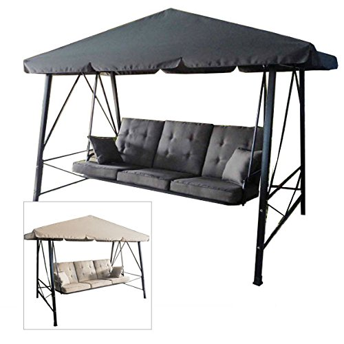 Garden Winds Gazebo 3-Person Swing Replacement Canopy by Garden Winds