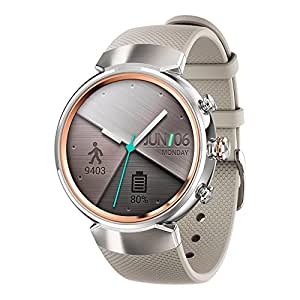 ASUS ZenWatch 3 (WI503Q) Smart Watch - International Stock (White)
