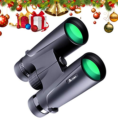 N-Life Professional Binoculars for Adults Low Light Night Vision 12X42 High Power HD Ideal Gift Folding Easy Focus Scope Optics Glasses Adjust Eye Lens for Birds Watching Outdoor Activities Sports For Sale