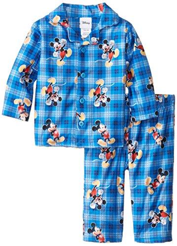 Mickey Mouse Baby Boys' Coat Pajama Set, Multi, 24 Months