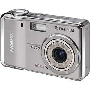 Fujifilm Finepix F470 6MP Digital Camera with 3x Optical Zoom