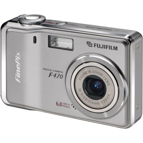 Fujifilm Finepix F470 6MP Digital Camera with 3x Optical Zoo